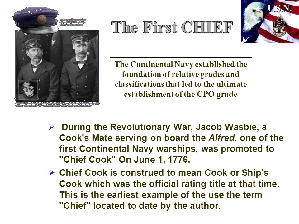 The First CHIEF