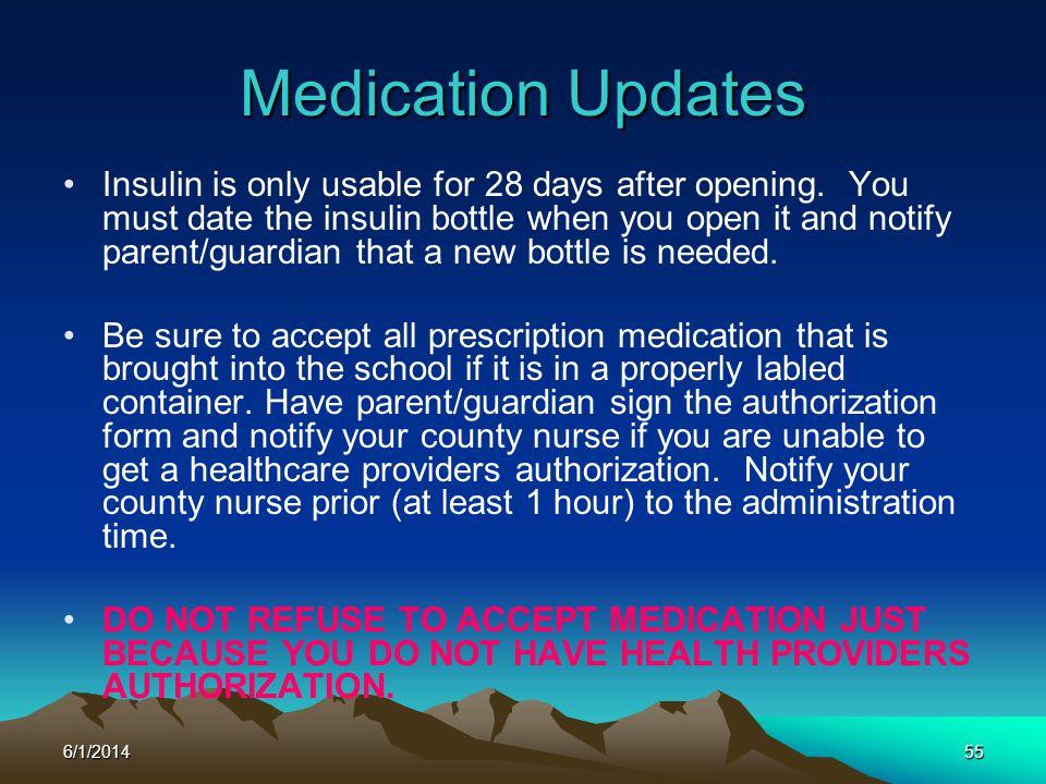 Medication Updates