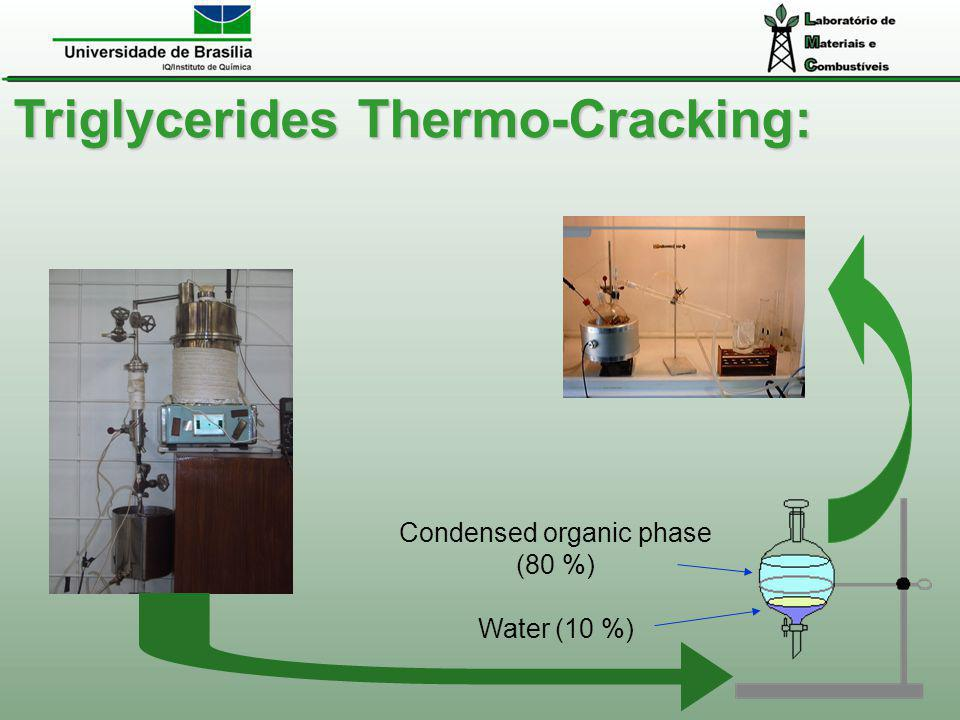 Condensed organic phase (80 %)