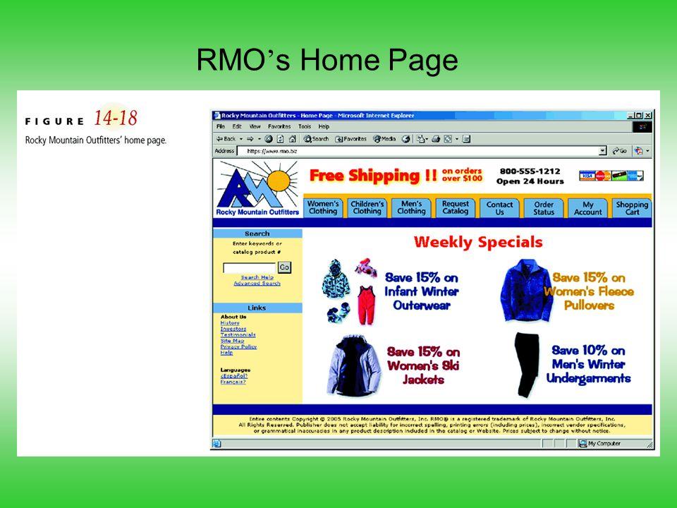 RMO's Home Page
