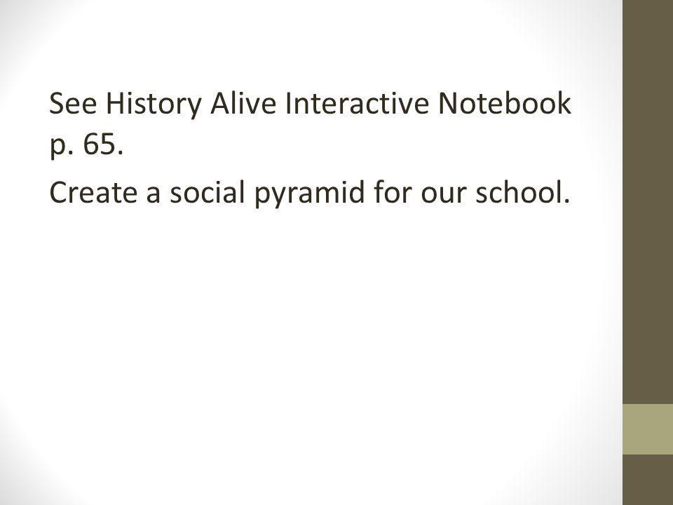 See History Alive Interactive Notebook p. 65