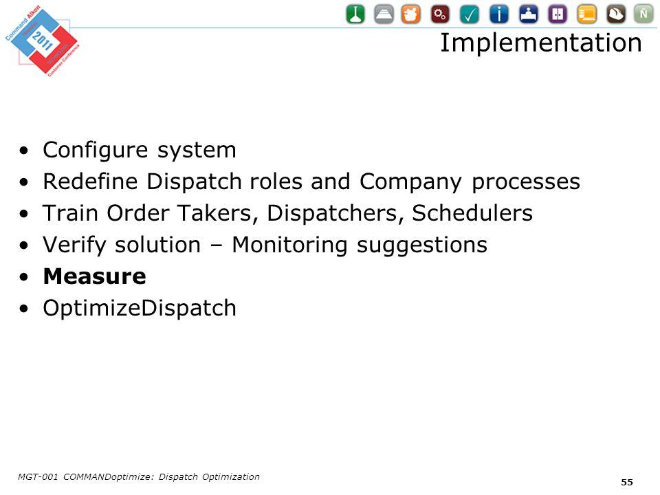 Implementation Configure system