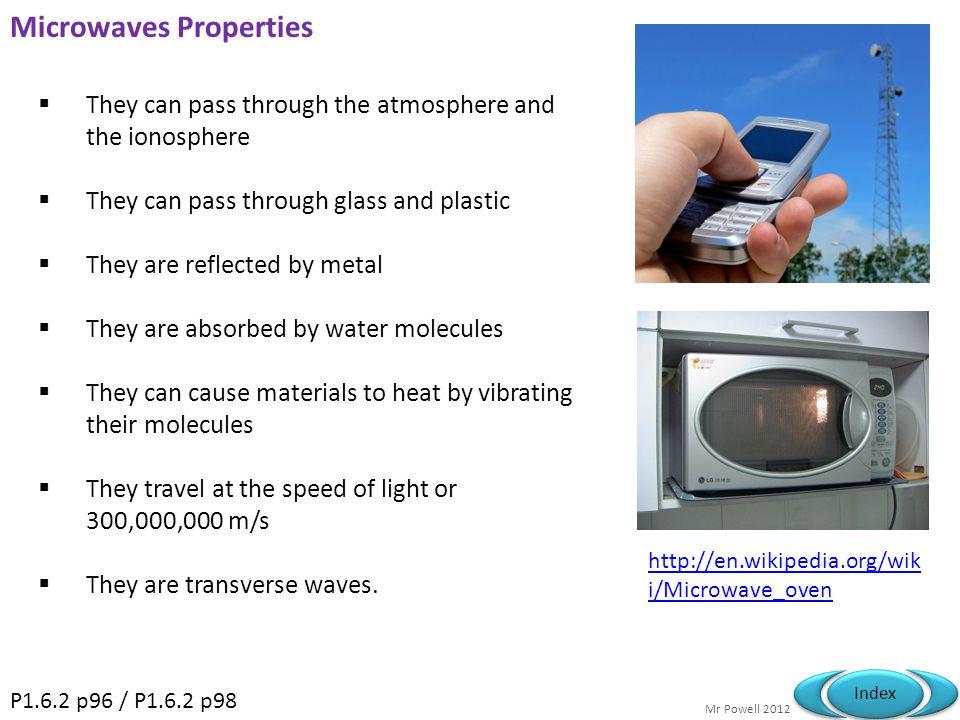 Microwaves Properties