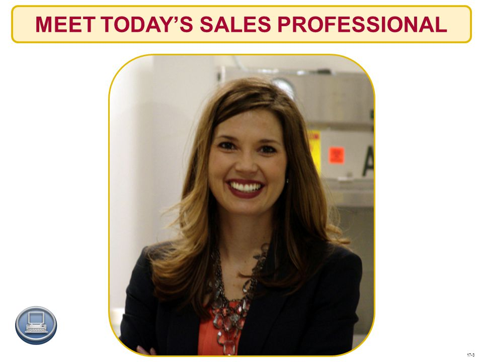 MEET TODAY'S SALES PROFESSIONAL