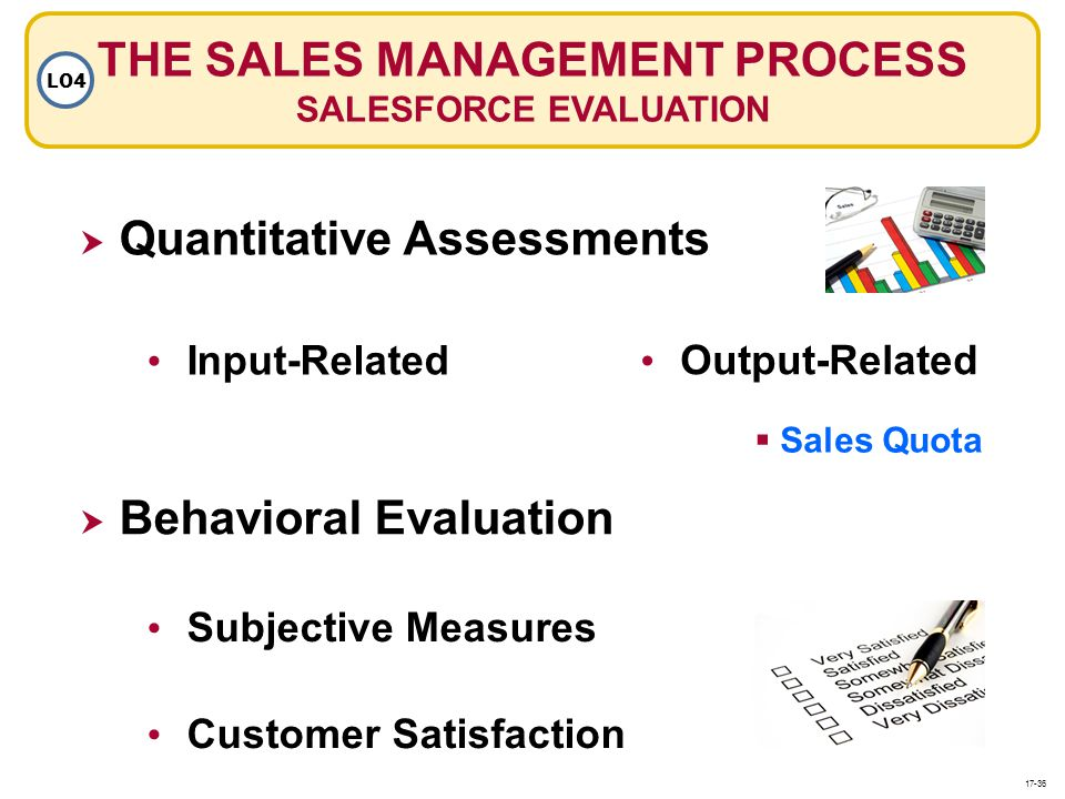 THE SALES MANAGEMENT PROCESS SALESFORCE EVALUATION