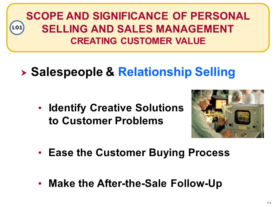 Salespeople & Relationship Selling