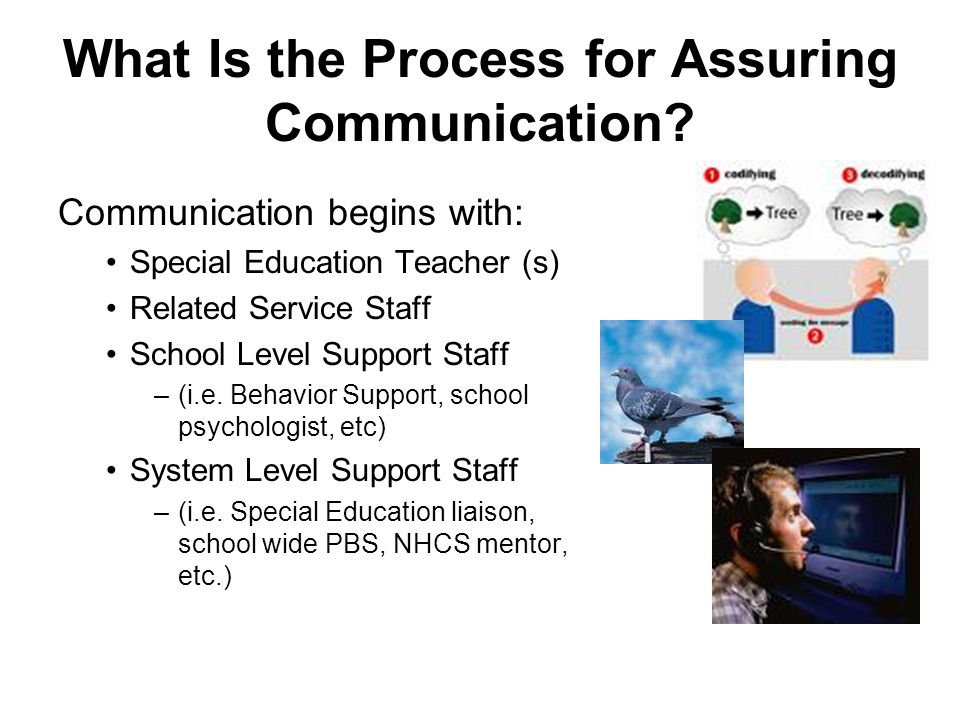 What Is the Process for Assuring Communication