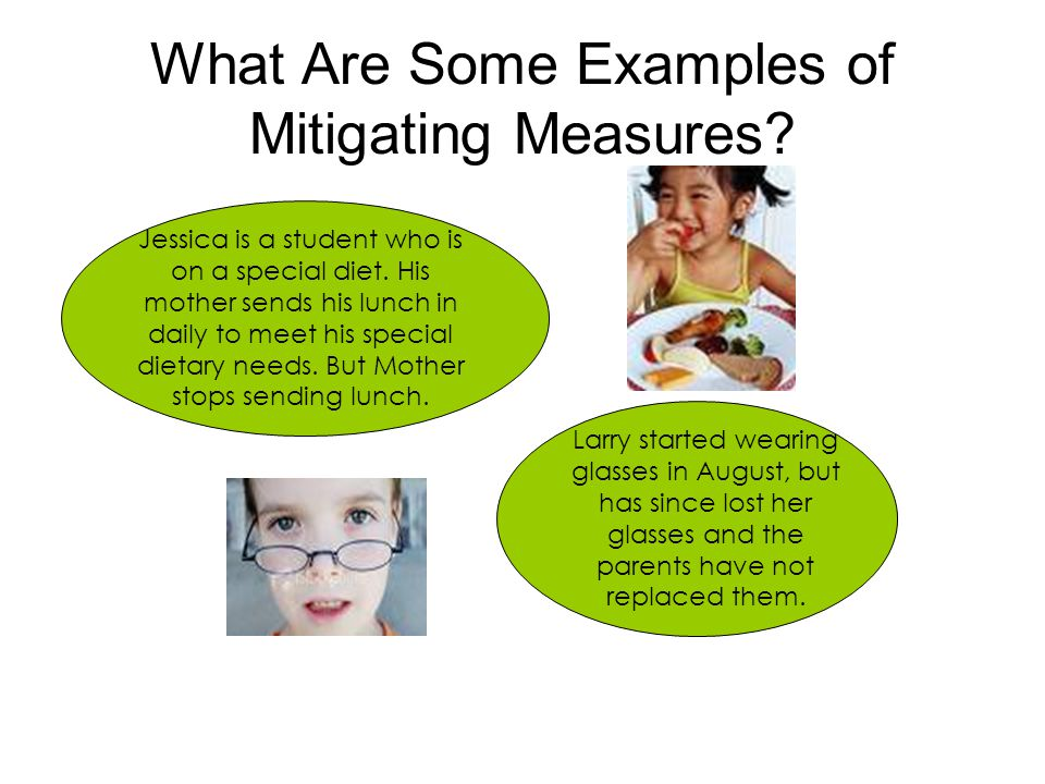What Are Some Examples of Mitigating Measures