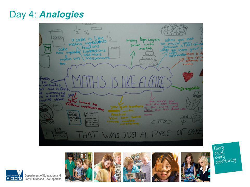Day 4: Analogies