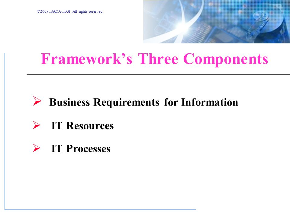 Framework's Three Components