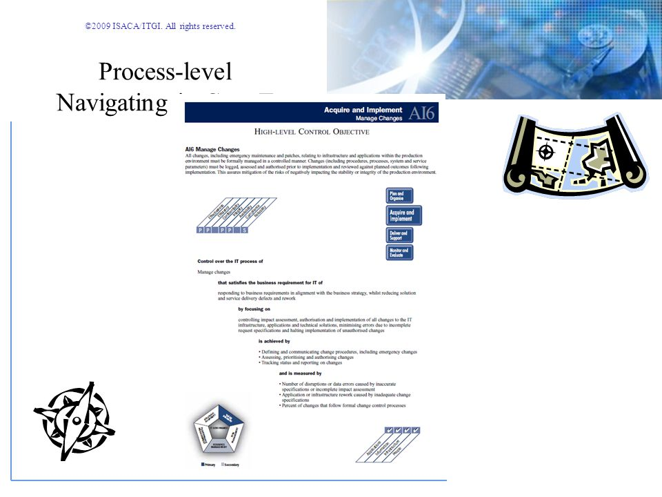 Process-level Navigating in COBIT