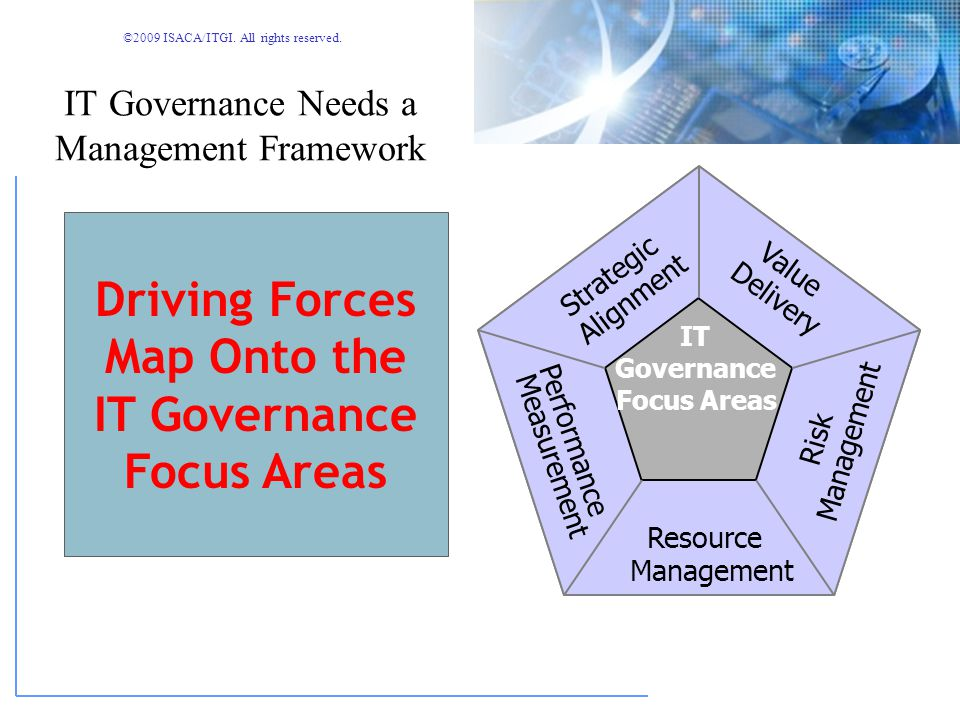 IT Governance Needs a Management Framework