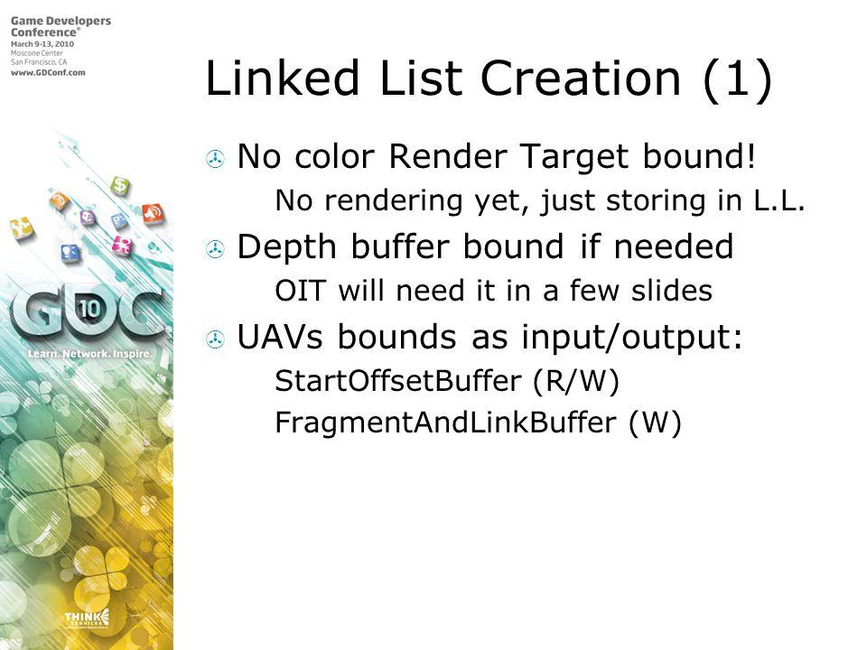 Linked List Creation (1)