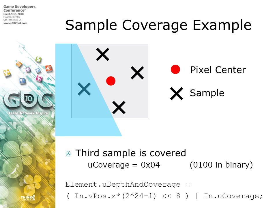 Sample Coverage Example
