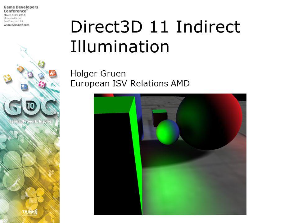 Holger Gruen European ISV Relations AMD