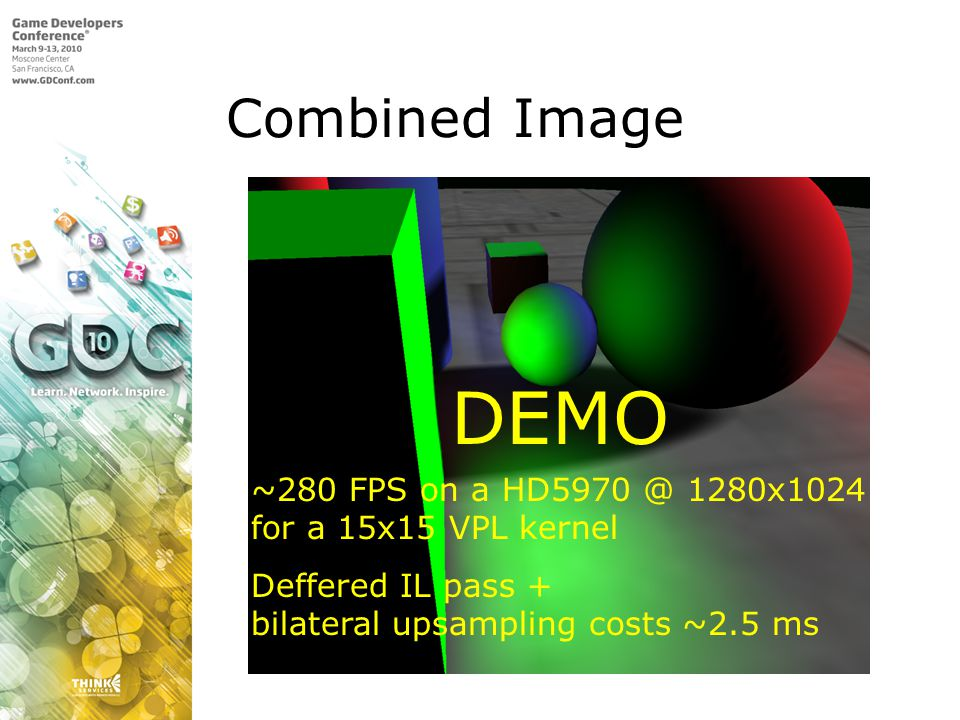 DEMO Combined Image ~280 FPS on a HD5970 @ 1280x1024