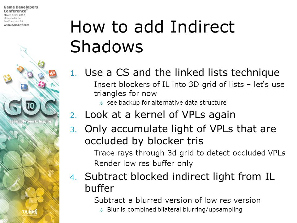 How to add Indirect Shadows