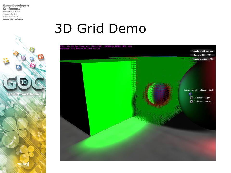 3D Grid Demo