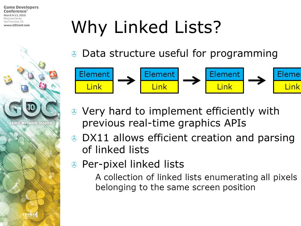 Why Linked Lists Data structure useful for programming