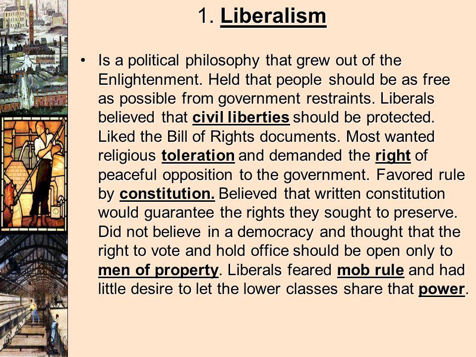 1. Liberalism