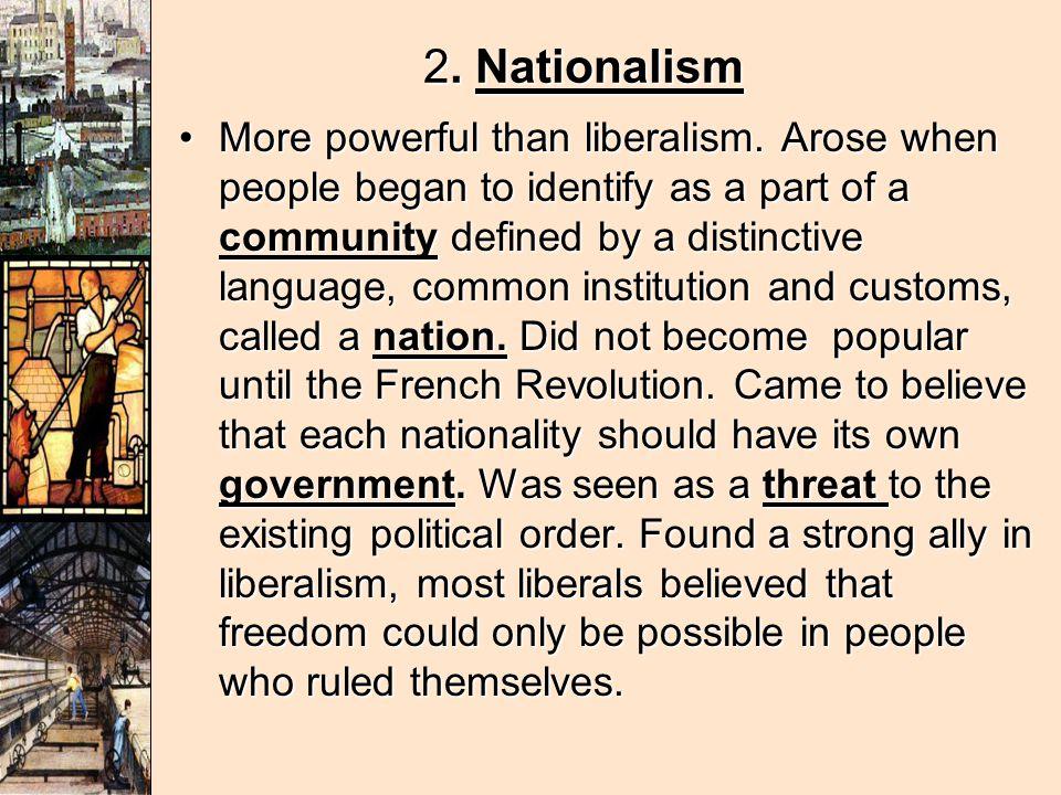 2. Nationalism