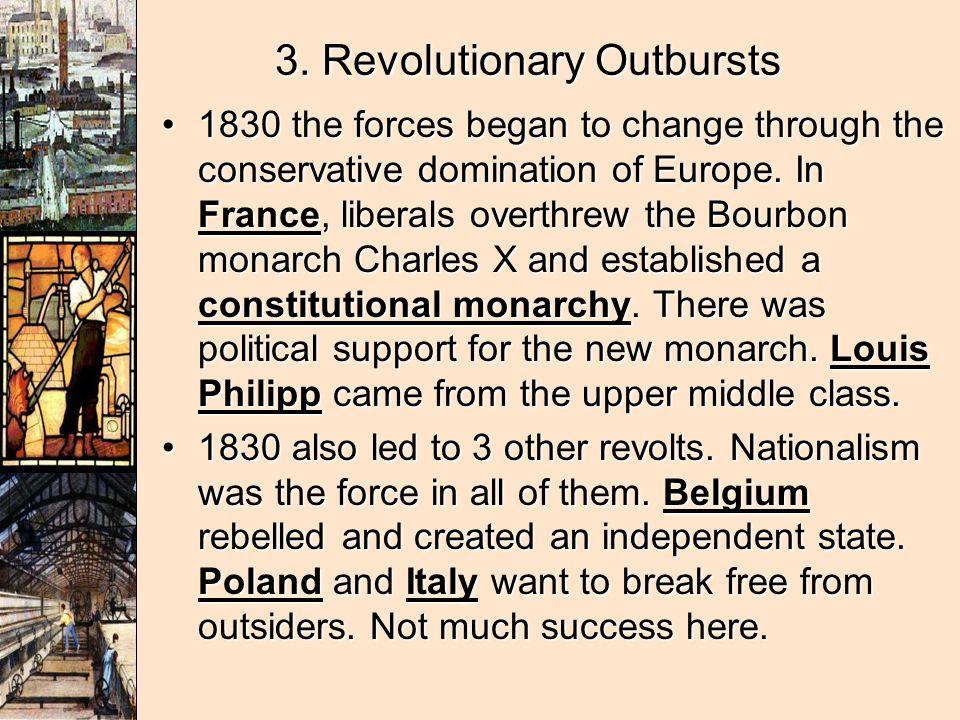 3. Revolutionary Outbursts