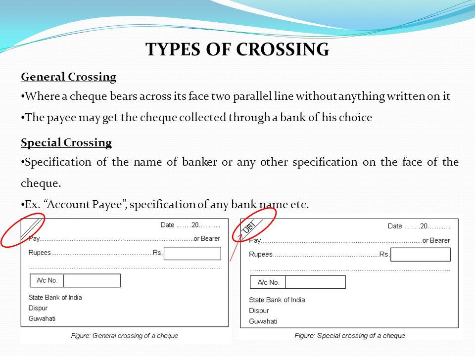 TYPES OF CROSSING General Crossing