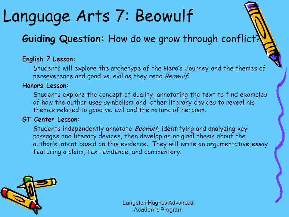 Language Arts 7: Beowulf