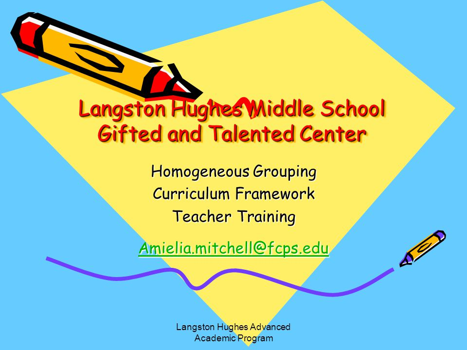 Langston Hughes Middle School Gifted and Talented Center