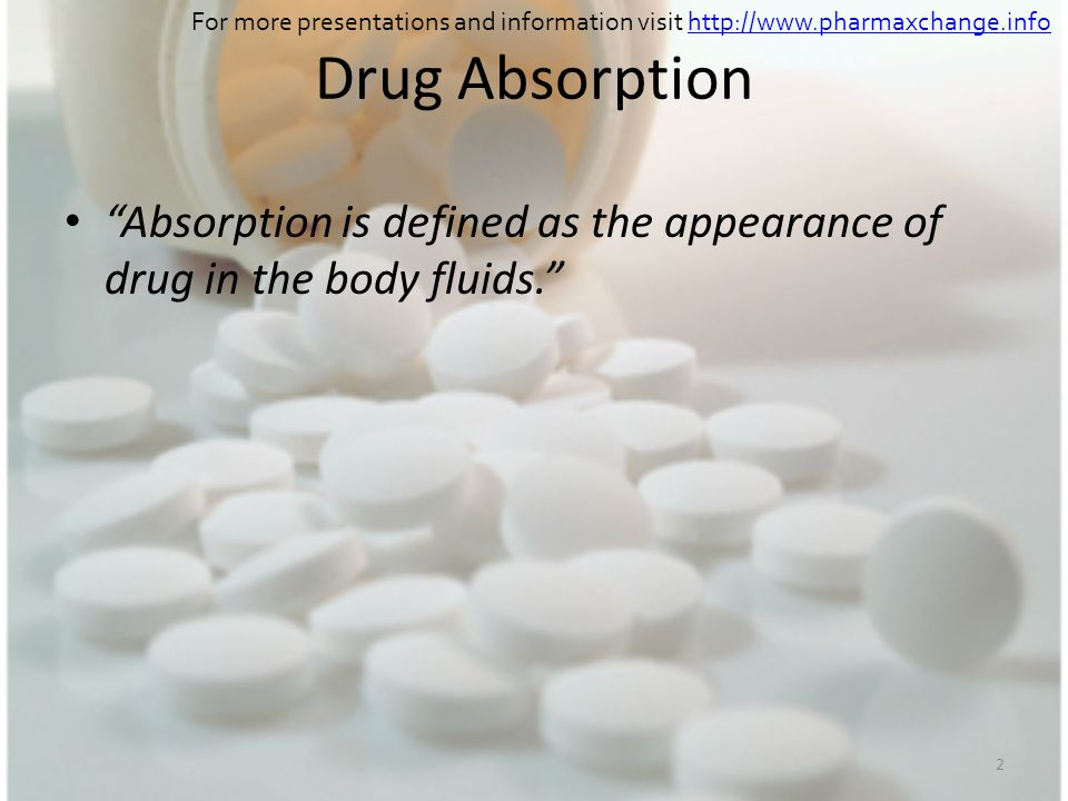 For more presentations and information visit http://www. pharmaxchange
