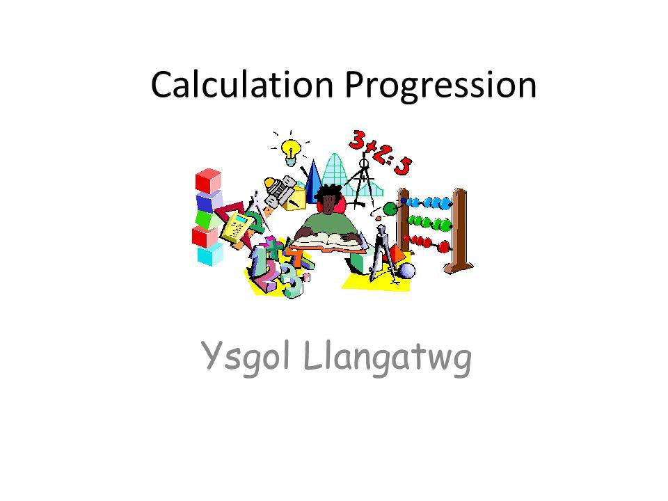 Calculation Progression