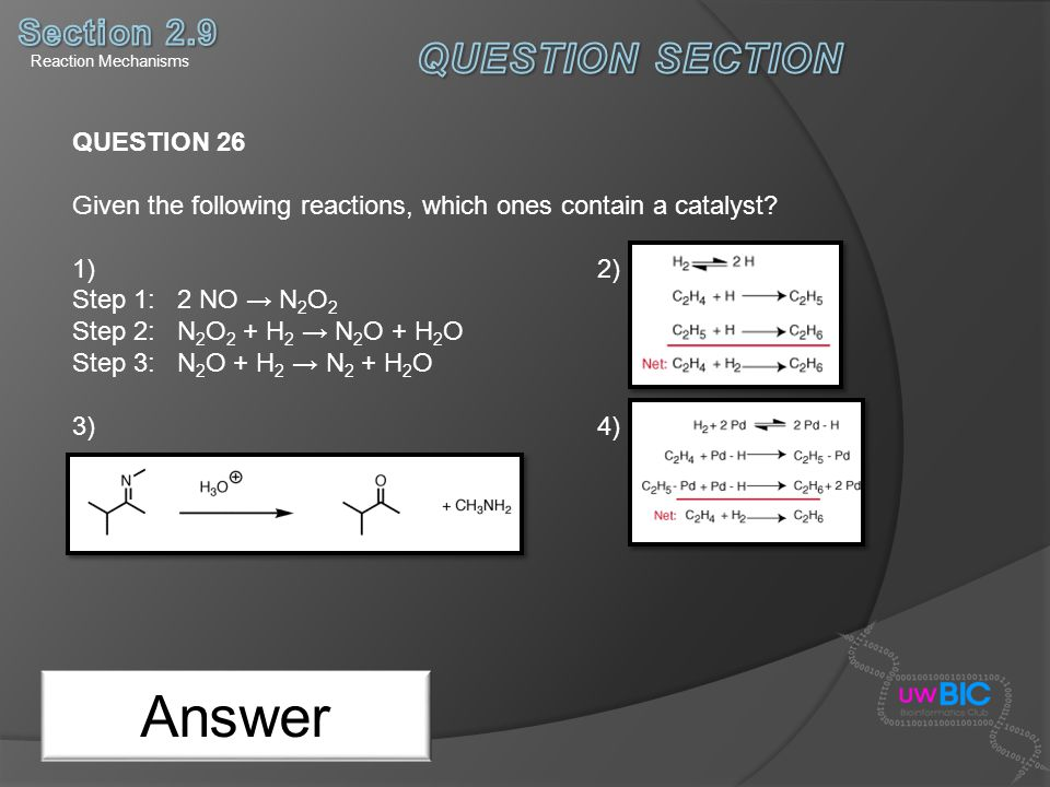 Answer QUESTION SECTION Section 2.9 QUESTION 26