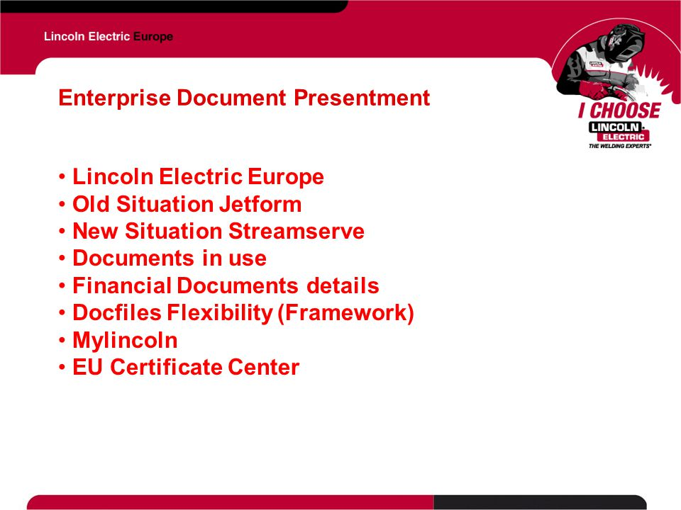 Enterprise Document Presentment
