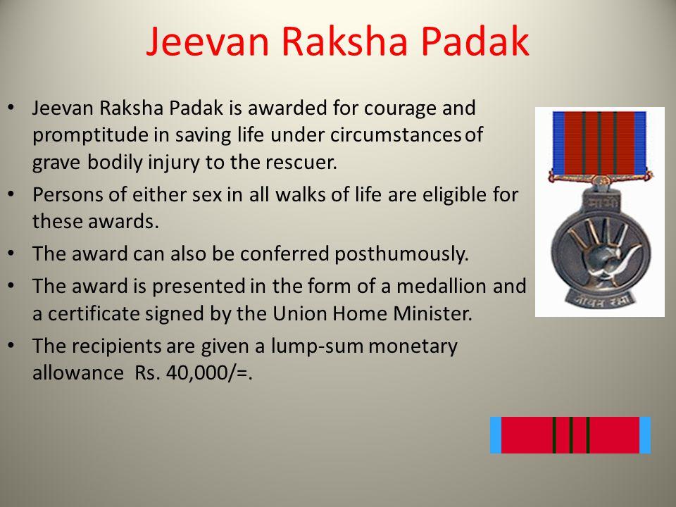 Jeevan Raksha Padak