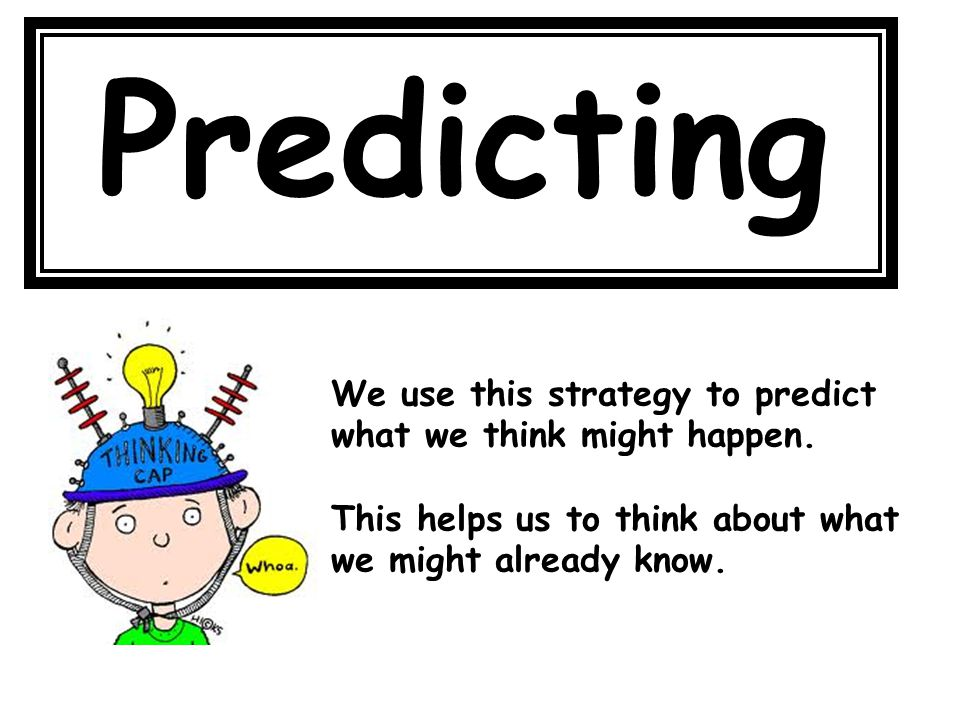 Predicting Predicting