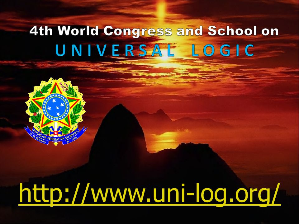 4th World Congress and School on U N I V E R S A L L O G I C