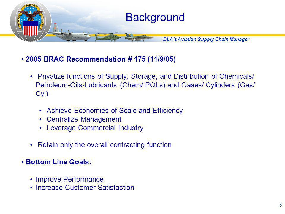 Background 2005 BRAC Recommendation # 175 (11/9/05)