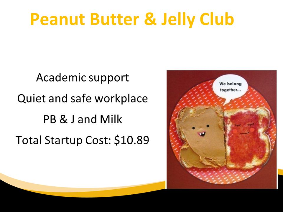 Peanut Butter & Jelly Club
