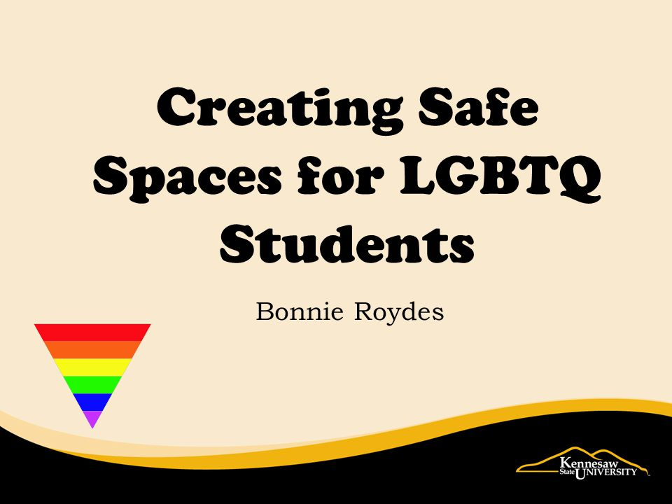 Creating Safe Spaces for LGBTQ Students