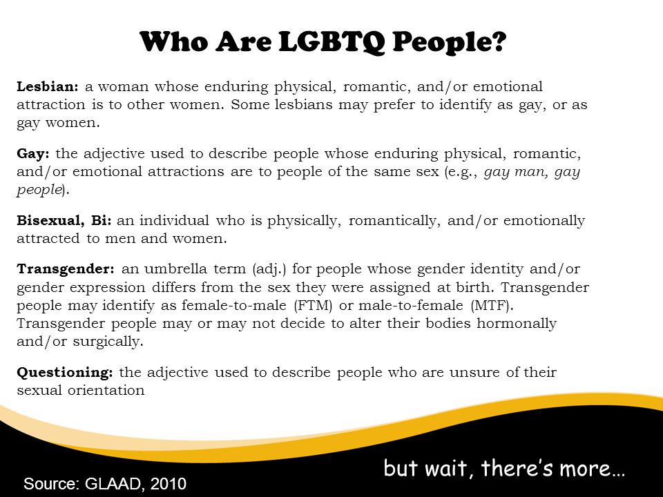 Who Are LGBTQ People but wait, there's more… 6/30/11