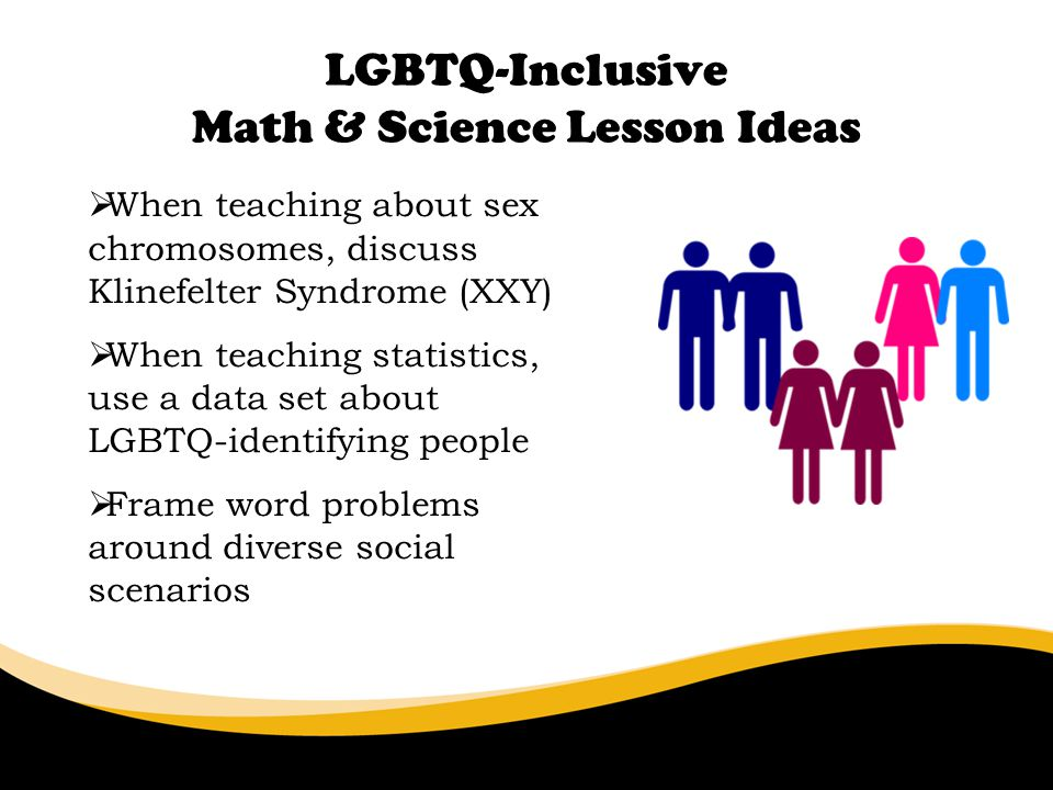 LGBTQ-Inclusive Math & Science Lesson Ideas