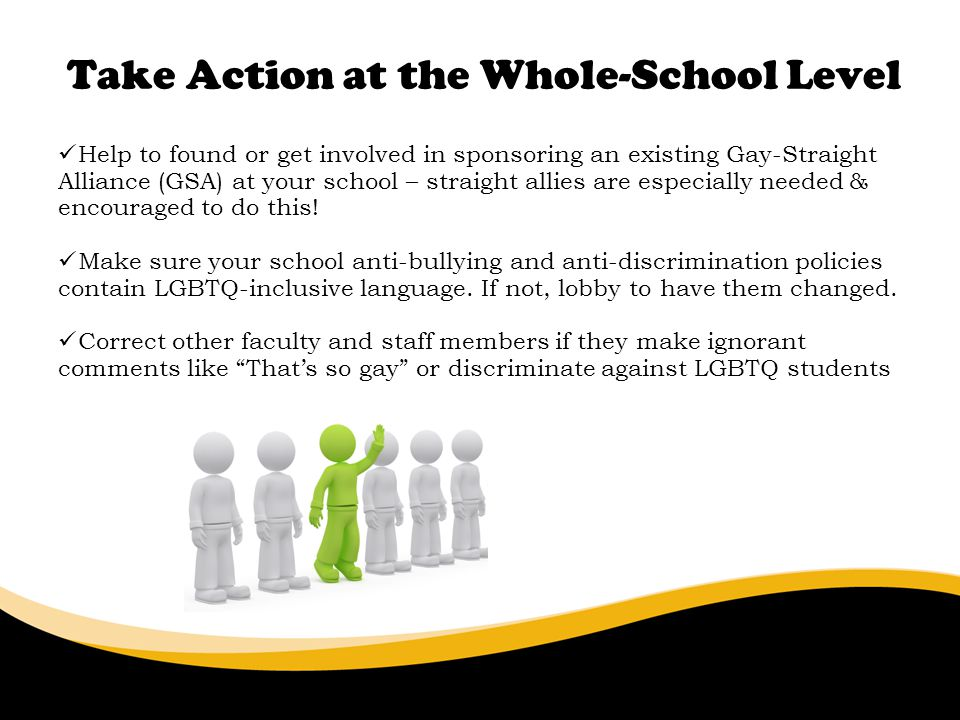 Take Action at the Whole-School Level