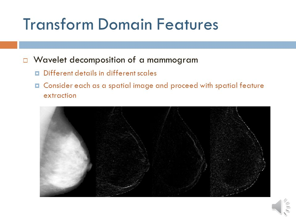 Transform Domain Features