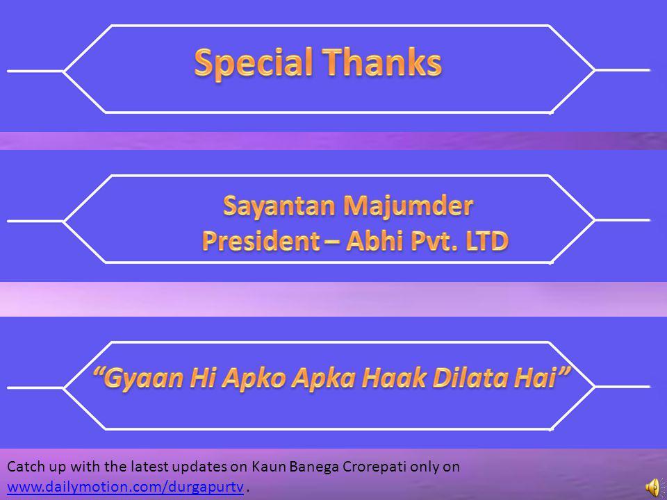 President – Abhi Pvt. LTD Gyaan Hi Apko Apka Haak Dilata Hai