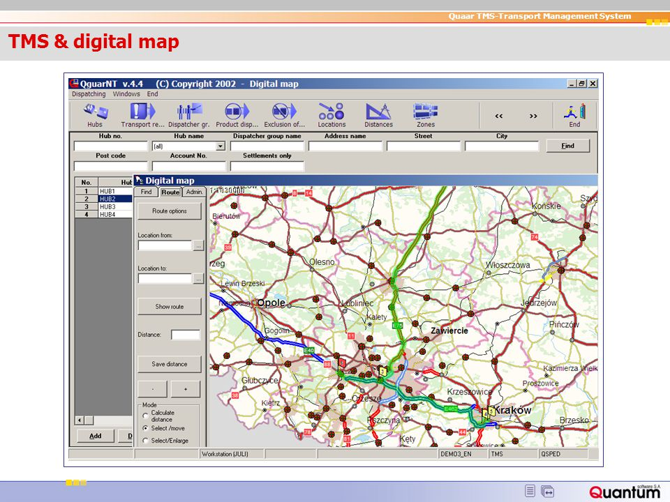 TMS & digital map TMS & digital map