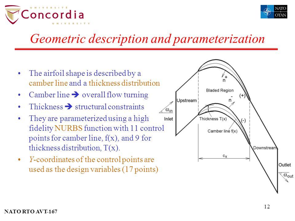 Geometric description and parameterization