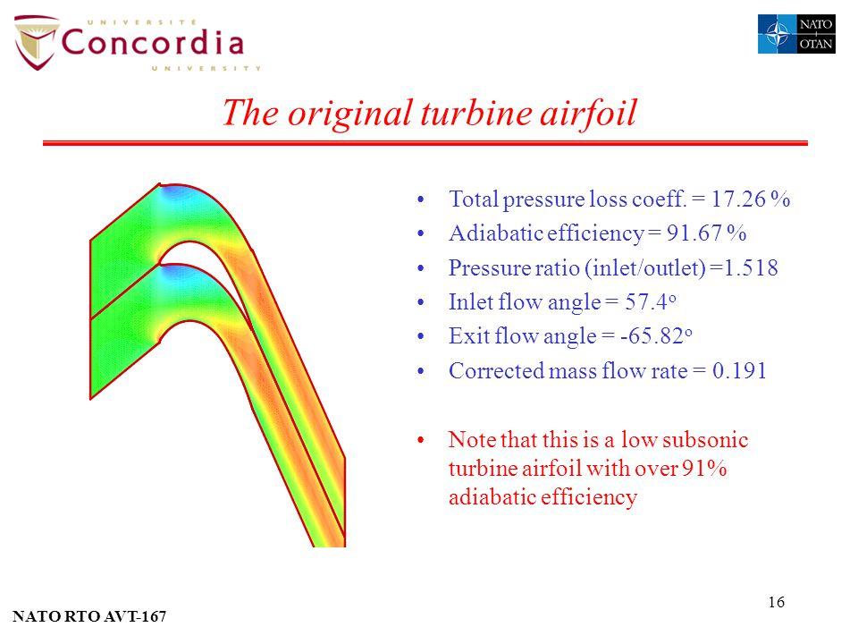 The original turbine airfoil
