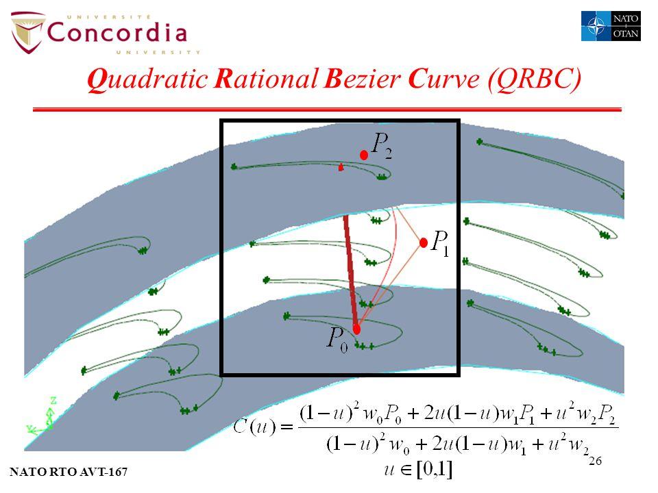Quadratic Rational Bezier Curve (QRBC)