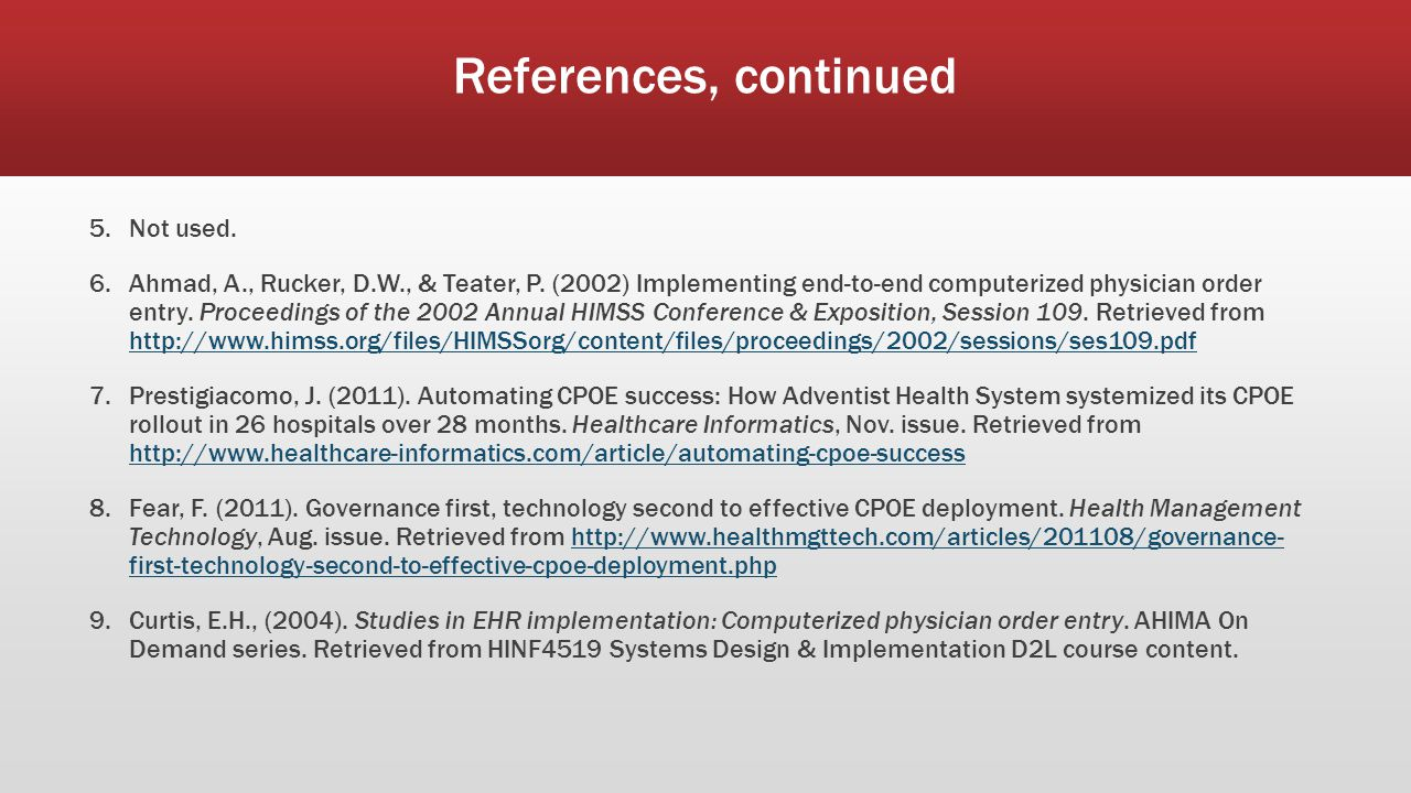 memorial health system cpoe implementation failures