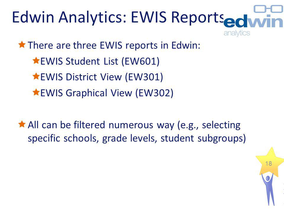 Edwin Analytics: EWIS Reports